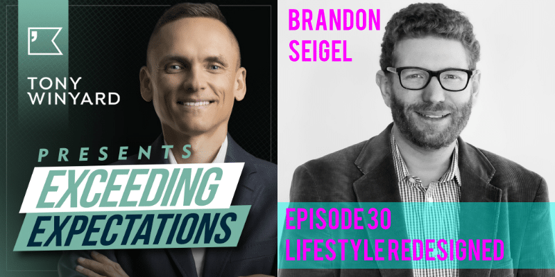 EE030 – Dr Brandon Seigel – Lifestyle Redesigned