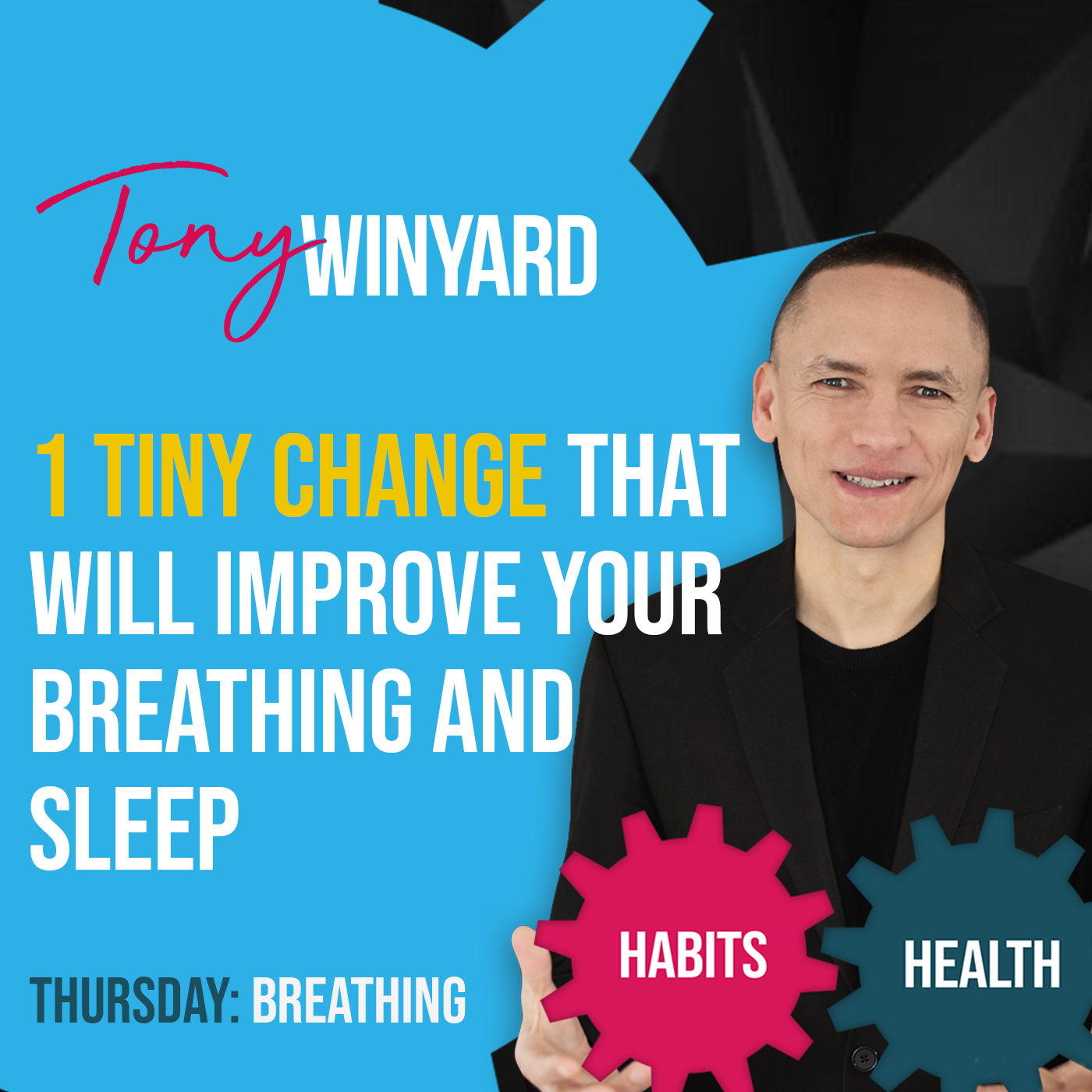 1 tiny change that will improve your breathing and sleep