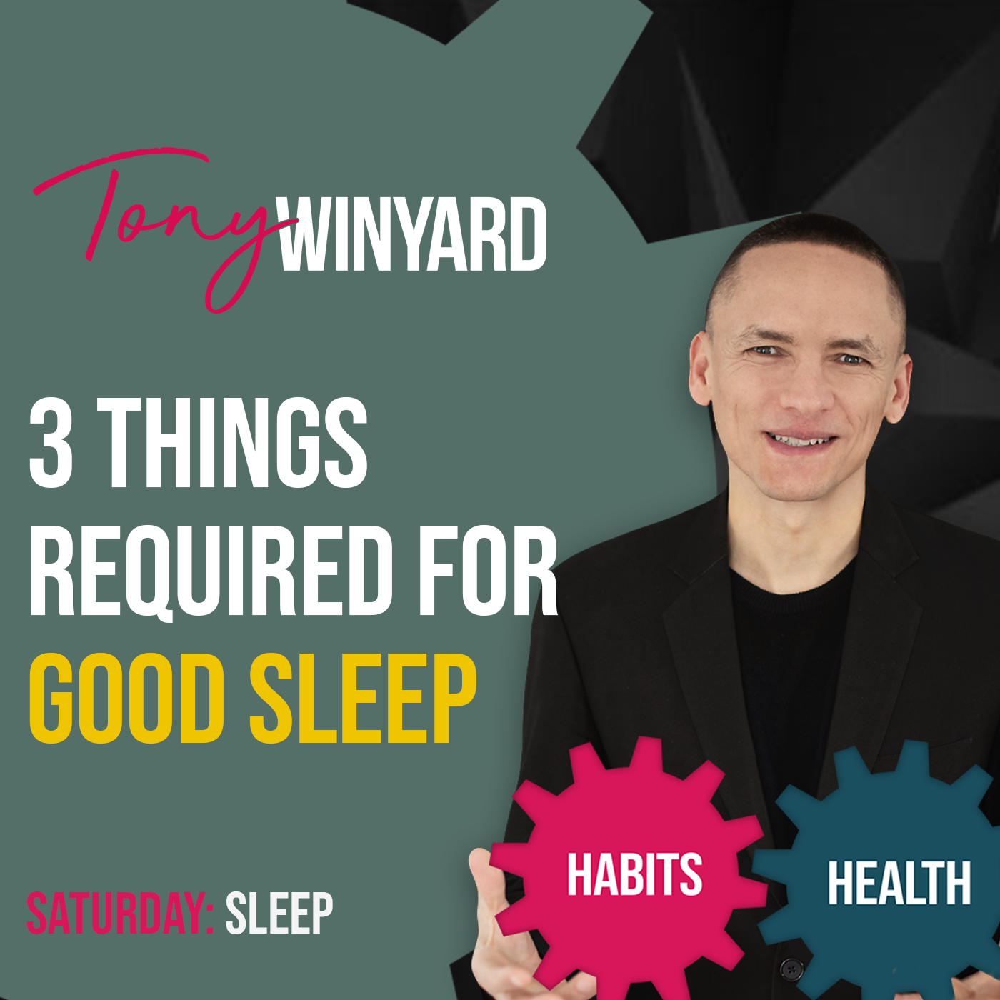 3 things required for good sleep