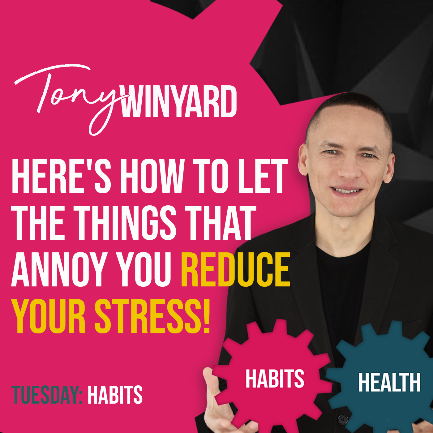 Here's how to let the things that annoy you reduce your stress!