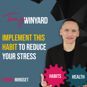 Implement this habit to reduce your stress