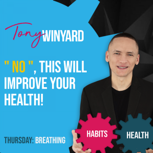 """""""NO"""", this will improve your health!"""