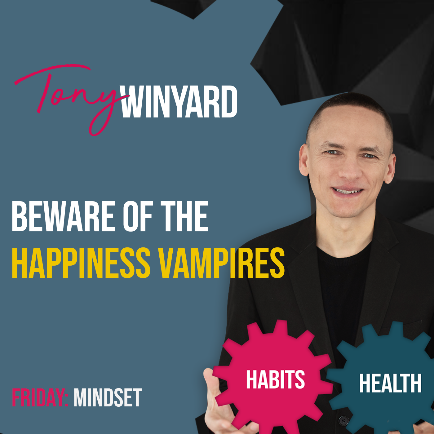 Beware of the happiness vampires
