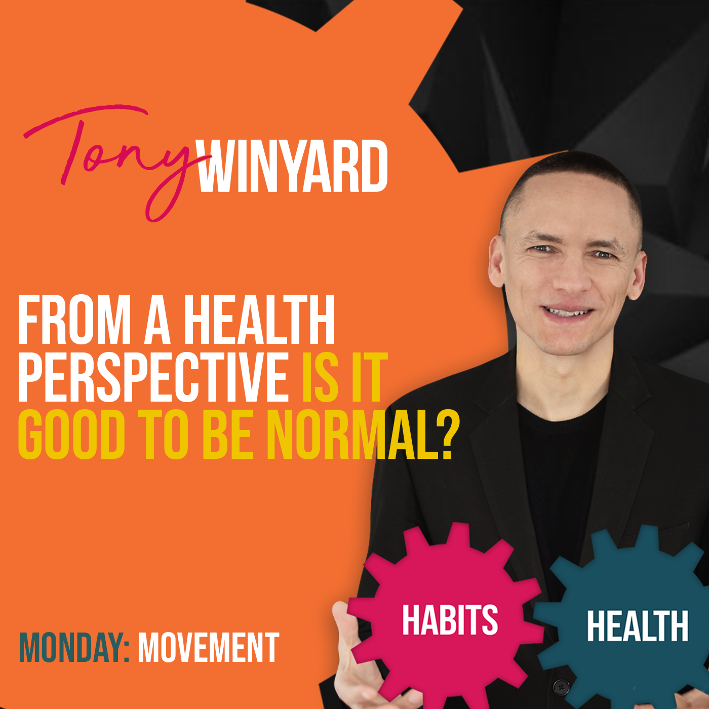 From a health perspective, is it good to be normal?