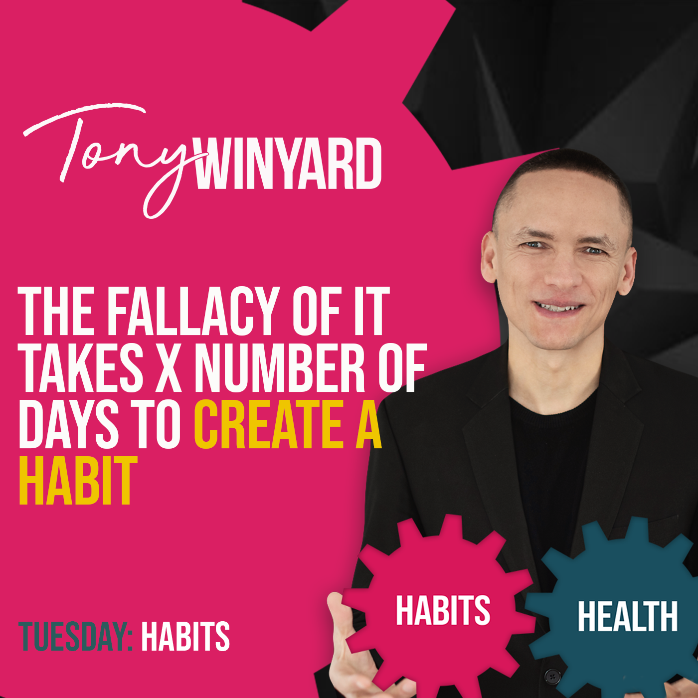The fallacy of it takes x number of days to create a habit