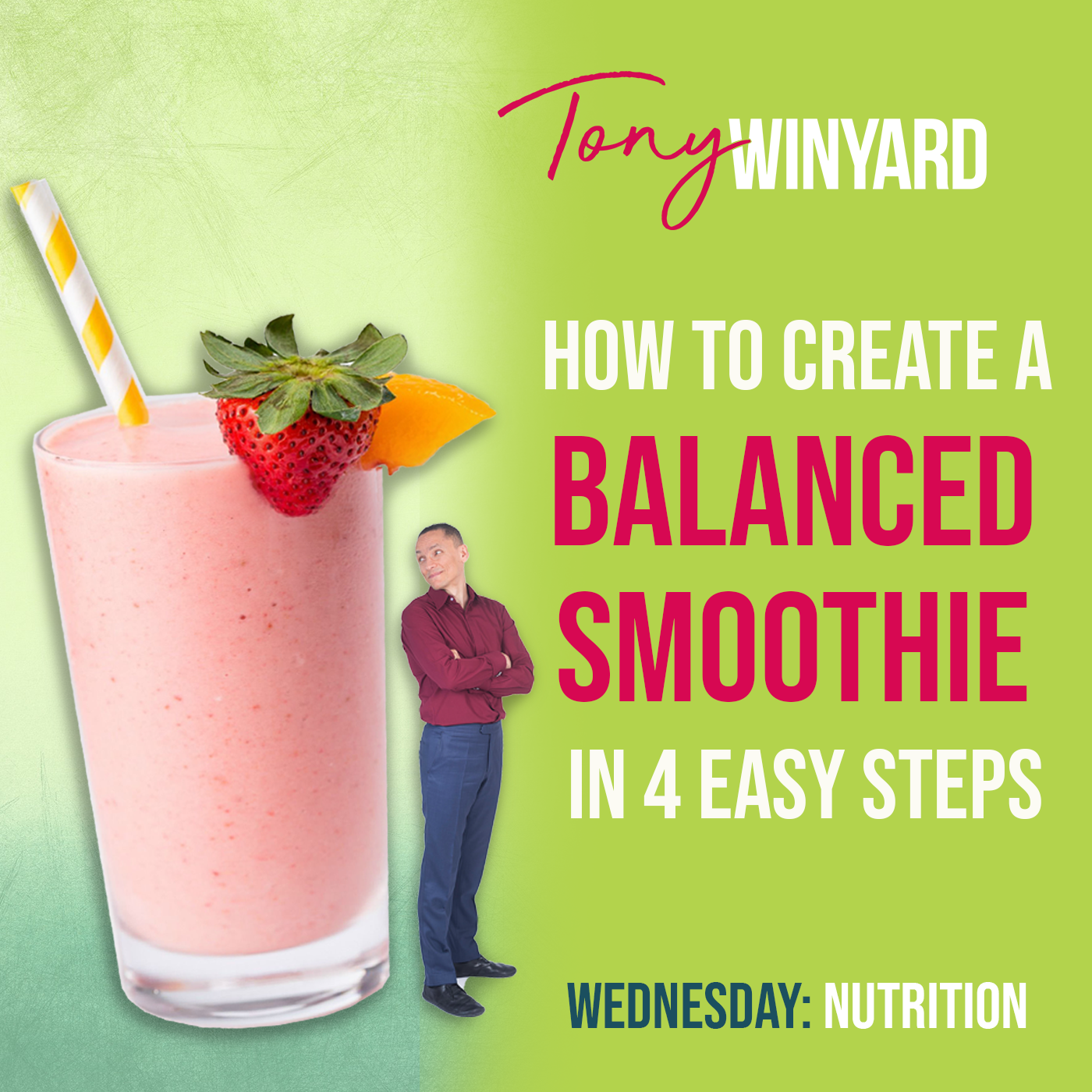 How to create a balanced smoothie in 4 easy steps